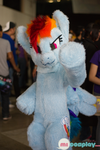 Rainbow Dash Fursuit by ABlackSpiritWolf