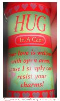 Hug in a Can by creativemikey