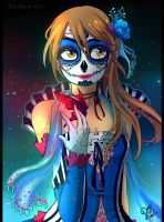 THE BLACK KEY: Dia de los Muertos by sonamy-25