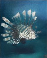 Lion fish by GaudiBuendia