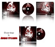 my cd cover design by kevin-utkarsh
