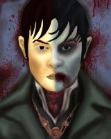 Dark Shadows Portrait Contest by BLOOD-and-LUST-87