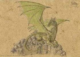 The Green Dragon by Strecno
