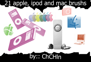apple-ipod brushs by chchln