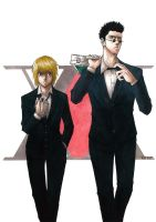 Two Sides of the Same Coin - KURAPIKA X LEORIO by Orenji--kun