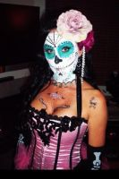 Full Face Sugar Skull by very310