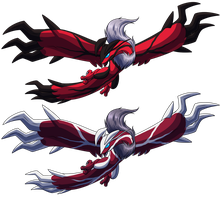 Yveltal by WeirdoFish