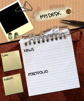 My Desk by PSMAG