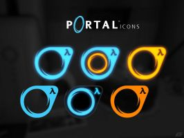 PORTAL icons by 5-G