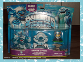 .: Skylanders: Empire of Ice Pack :. by Dunkin-Prime