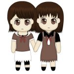 Mio and Mayu Chibi :D by Rope-Shrine-Maiden