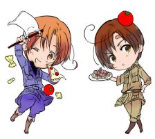Italy And Romano COLORED by XxhatsunemikuXDxX