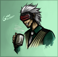 Godot - Sketch by NaturallyLecherous