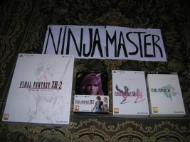 Limited Final Fantasy XIII e XIII-2 by ninjamaster76