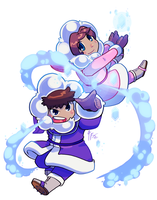 IC 30th Anniversary - Day 14 - Ice Powers by TamarinFrog