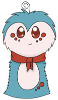 Pebble the Scarfblob by pichisi