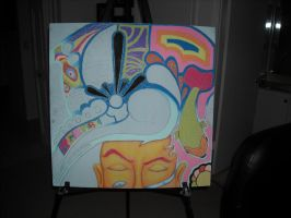 Weird Dreams Pastel WIP by Jermbo