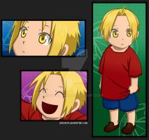 Young Edward Elric by gachapin