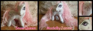 Snow Queen MLP by MadeByJanine