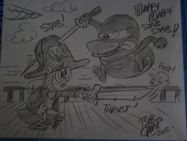 A sketch by Bob Camp by Robot001