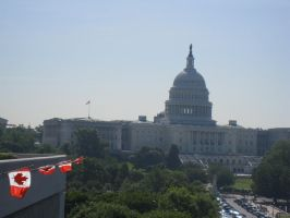 The U.S. Capitol Building by 4ever-rider
