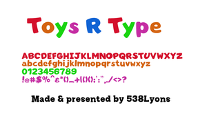 Toys R Us Logotype by DLEDeviant