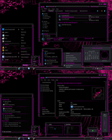 LightSabre-Pink Theme by Skull1959