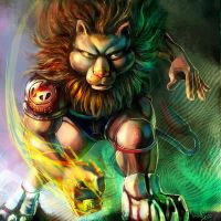 Lion-man by tman2009