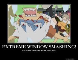 SOUL EATER-EXTREME WINDOW SMASHING by DeathTheKid118