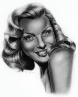 marilyn monroe drawing by ellinorhelen