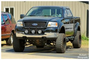 A Ford F-150 4x4  Truck by TheMan268