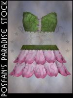 Fairy Flower Outfit 001 by poserfan-stock