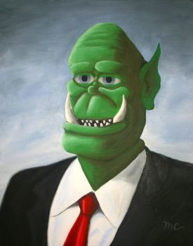Corporate Executive Ogre by macourtney