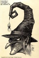 Autumn People 5 (Witch) by SavageSinister