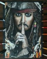 Jack Sparrow (Johnny Depp) by artistic-otaku-taran