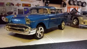 57 chevy Nomad  by themodelist