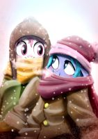 Winter Sisters by doubleWbrothers