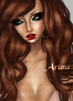Ariana2. by inumnia