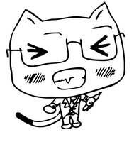 otousan as a chibi kitty by NatsumiTakahashi