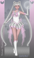 Silver Sailor Moon by Kira-Jacqueline