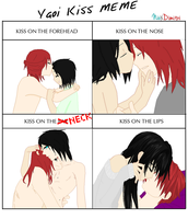 Kiss Meme  [Nio and Dimitri] by Lio-san