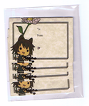 Asato Notecards by MorphineRx