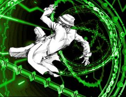 Hazama Sketch -Blazblue- by SquishSquall