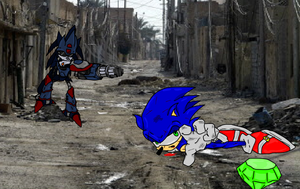 The Death of Sonic by Methados