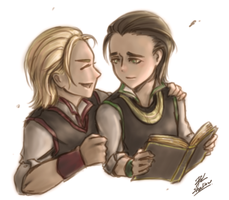 ThorandLoki by palitapare