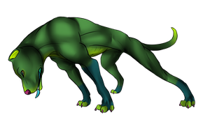 New Char Pit Bull - Anubis by MonsterBruce