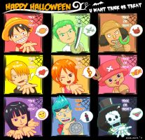 halloween one piece by ruriann
