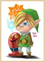Link the Red Chuchu Tamer by Penril