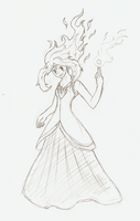 Flame Princess by The-Insignia