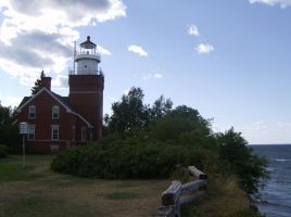 Big Bay Point Lighthouse by Silvre